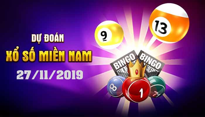 Dự đoán XSMN 27/11/2019 – Xổ số Đồng Nai hôm nay