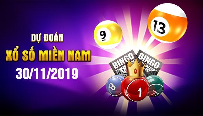 Dự đoán XSMN ngày 30/11/2019