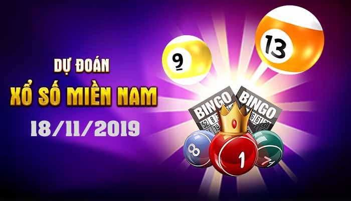 Dự đoán XSMN ngày 18 tháng 11 năm 2019