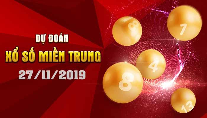 Dự đoán XSMT 27/11/2019 – Xổ số Khánh Hòa hôm nay