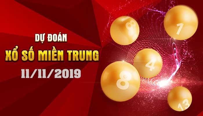 Dự đoán XSMT ngày 11 tháng 11 năm 2019