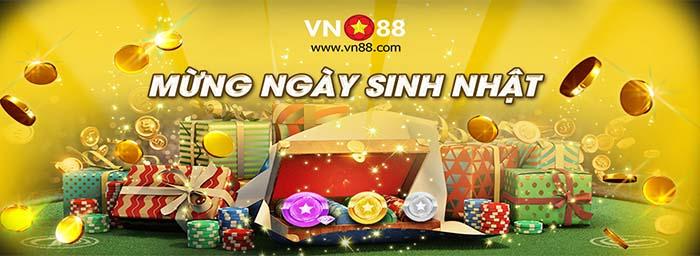 Khuyến mãi khi đến tháng sinh nhật VIP tại VN88