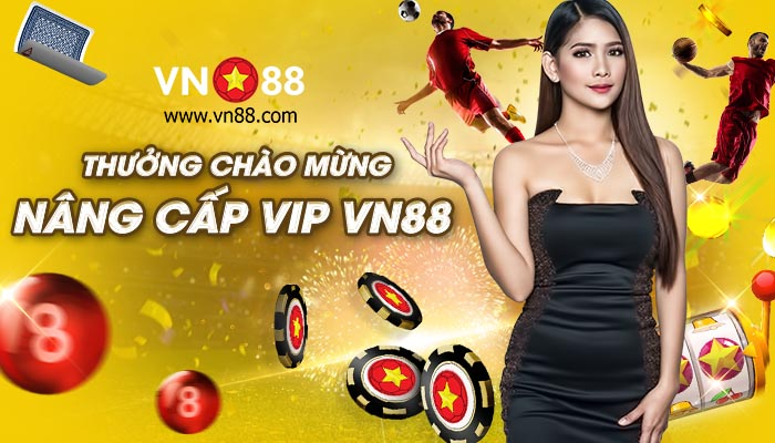Khuyến mãi khi lên cấp độ VIP tại VN88