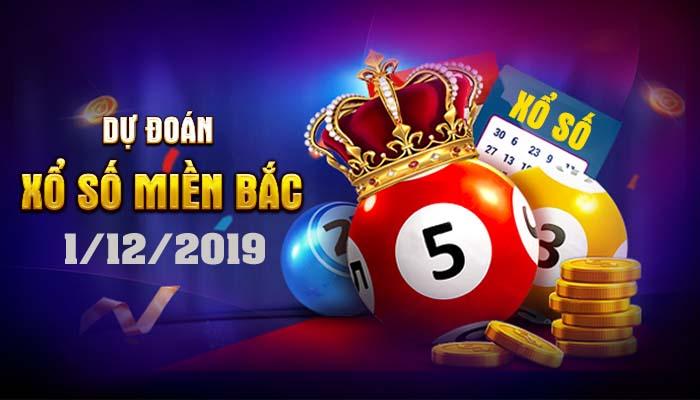 Dự đoán XSMB 1/12/2019 – Chốt BTL, STL xổ số Thái Bình