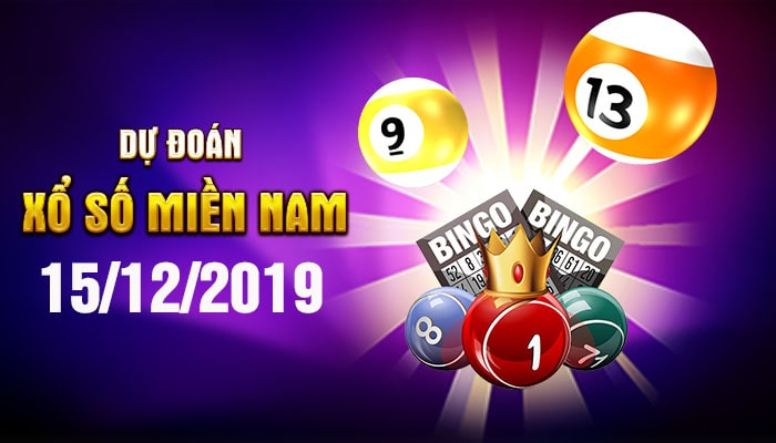 Dự đoán XSMN ngày 15/12/2019 - Soi cầu Tiền Giang