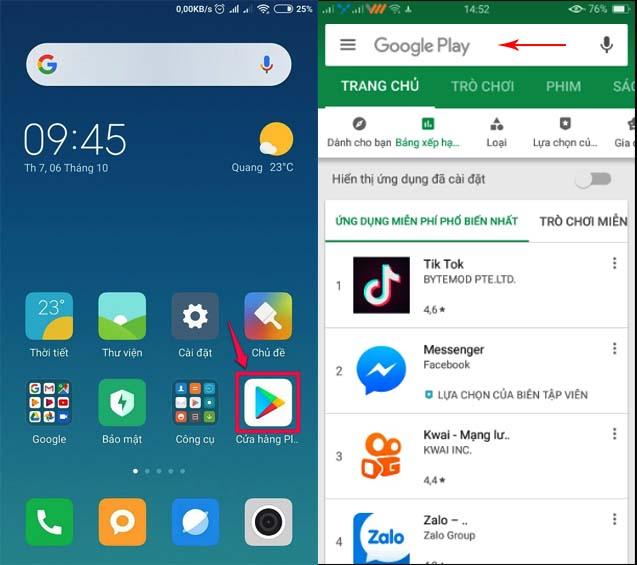 Cách tải game Bầu Cua Tôm Cá trên điện thoại Android mọi phiên bản