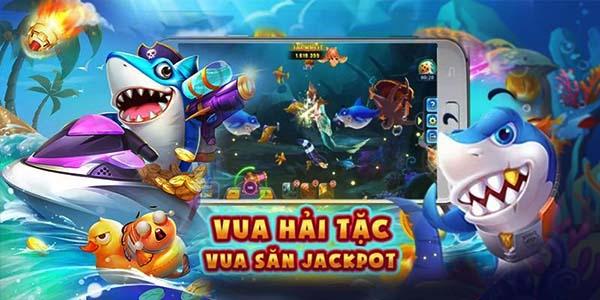 Vua hải tặc - game bắn cá độc đáo mới lạ
